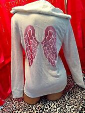 Victorias Secret Angel Wings Hoodie Supermodel Heather Gray Small