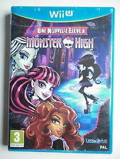 Monster High une nouvelle élève à Monster High Jeu Vidéo Wii U