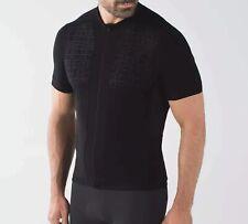 Lululemon Sea to Sky Black Cycling Jersey Size Medium