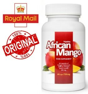 African Mango - Fat Burn, Reduces Appetite & Boost Weight Lost, 60 caps./720 mg
