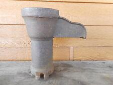 Farmhouse Vintage Cast Iron Well Water Pump Garden spout garden shabby Dempster