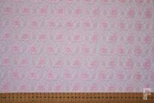 Tessuti e stoffe rose Floreale in pizzo per hobby creativi