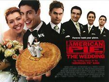 American Pie movie poster - Jason Biggs, Alyson Hannigan - 12 x 16