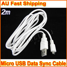 2m Premium Micro USB Charger Data Cable for HTC One M7 M8 M9 Sensation Desire