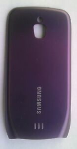OEM Samsung Exhibit T759 Back Cover Battery Door Purple T-Mobile