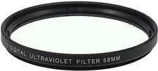 Bower 58mm UV Filter Ultra Violet 58 mm Multi-Purpose Glass Filter