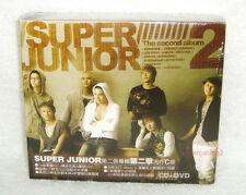 K-POP Super Junior the Second album Vol. 2 Don't Don 2007 Taiwan Ltd CD+DVD