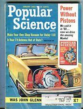 Popular Science Magazine January 1965 John Glenn 062317nonjhe