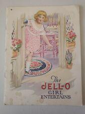 Vintage Jello Recipe Booklet JELLO-GIRL ENTERTAINS
