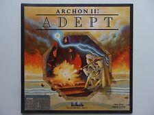 Archon II , Adept - Atari 400 800 XL LE Game 1984 disk 48k floppy archen 2