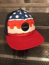 O'NEILL STELLAR BEER PONG ~ NWT ~ Adjustable Snapback Flat Bill Trucker Hat Cap