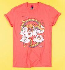 Official Women's Rainbow Brite Clouds Rolled Sleeve Boyfriend T-Shirt