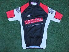 Nouveau ~ ADIDAS 100% moi TEAM ISSUE Cyclisme Vélo Ss Race Jersey Top ~ Small