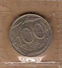 P426 Moneta Coin ITALIA Repubblica Italiana 100 Lire Italia Turrita 2° Tipo 1997