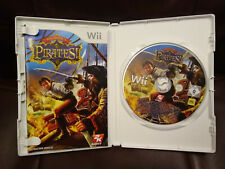 Sid Meiers Pirates (Nintendo Wii, 2010) PAL Disc with Manual Booklet Game 12+