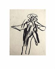 Willem DE KOONING Original LITHOGRAPH No. LIMITED Ed. 55x44cm +Custom FRAMING