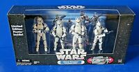STAR WARS CLONE TROOPER 4-Pack WHITE CLEAN No Battle Damage ACTION FIGURE NEW