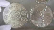 2014 5oz Silver Libertad Mexican Coin BU in Air-Tites Capsu KEY DATE 6400 MINTED