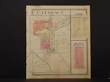 Wisconsin, Monroe County Map, 1915, Cataract, J12#22