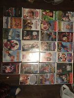 Walt Disney Clamshell Live Action VHS Tapes. Lot Of 27
