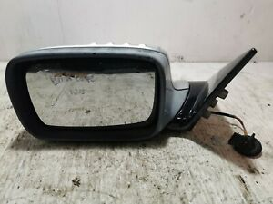 2004 BMW 318ci Coupe E46 Passengers Near Side Left Electric Wing Mirror Silver