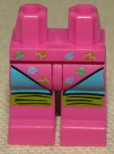 LEGO NEW PINK MINIFIGURE AEROBICS GYM GIRL FEMALE LEGS PANTS