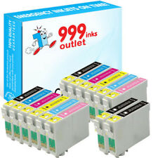 T0807 Remanufactured Ink for  Stylus Photo RX560 RX580 RX595 RX685 - 14 Pack