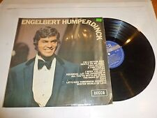 ENGELBERT HUMPERDINCK - Engelbert Humperdinck - 1969 UK 12-track LP
