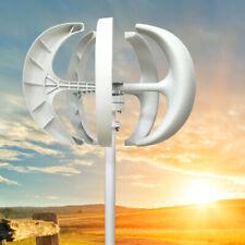 600W 12V Lantern Vertikal Wind Turbine Windgenerator Windkraftanlagen+Controller