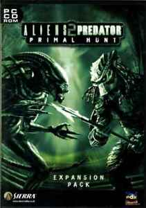 Aliens Versus Predator 2 Primal Hunt Expansion Pack, PC Shooter Game, Brand New