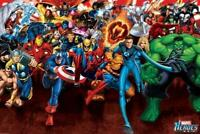 Marvel : Heroes Attack - Maxi Poster 91.5cm x 61cm new and sealed