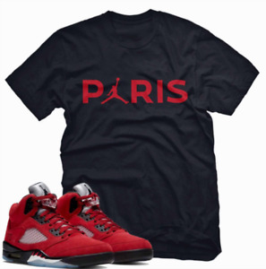 Jordan 5 Raging Bull T Shirt, PARIS Unisex T-Shirt to Match Air Jordan 5 Retro R