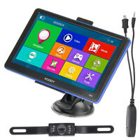 XGODY 886 7'' Car GPS Navigation 8GB 3D Map Bluetooth w/ Wireless Reverse Camera