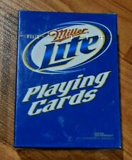 Miller Lite - Playing Cards - New In Package