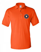 Houston Astros Men's Knit Polo Shirt Priority Available