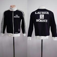 Football jacket soccer Fc Raron Training Adidas Vintage West Germany 70s Top 5