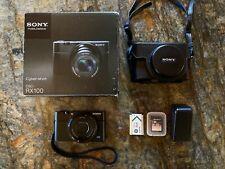 Mint - Sony Cyber-shot DSC-RX100 20.2 MP Digital SLR Camera - Black