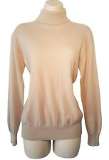 Marilyn Monroe Style Beautiful Cashmere Sweater in Beige Medium CC Courtenay
