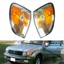 OEM 1 Pair Corner Front L+R Turn Signal Light For 1998-2007 Toyota Lexus LX470