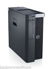 DELL Precision t3610 Xeon Quad Core e5-1620 V2 256gb SSD Quadro K2000 WIN 10 Pro