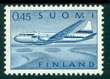 Aviation Single Finnish Stamps