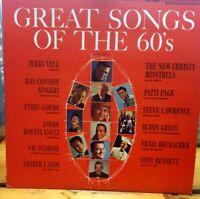 Great Songs of the 60's Vol. 1 ~ Various, 60s Pop Vintage Vinyl Record Album