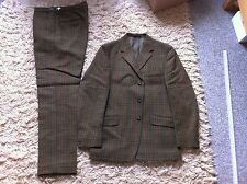 Lambourne Calvary 2 piece Classic wool suit double vent Vintage Retro
