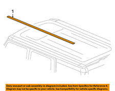 Hummer GM OEM 03-06 H2 Roof-Drip Molding 15097191