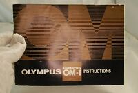 Olympus OM-1 Camera Manual Guide   Instructions