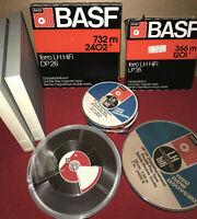 BASF Tonbänder Magnettonbänder Konvolut Neu und fast wie Neu - Unbespielt (441)