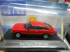 FORD Taunus GT SP5 Coupe 1983 rot red Sport Argentina Atlas IXO Altaya SP 1:43