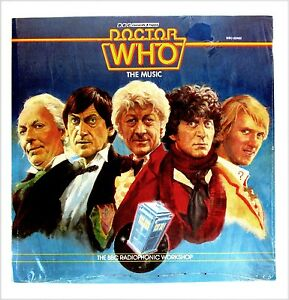 DR. WHO THEME MUSIC OST LP Sealed!  1983