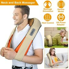 Shiatsu Back Shoulder and Neck Massager with Heating Deep Tissue 3D Kneading