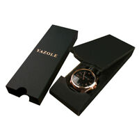 Long Style Luxury Watch Case Color Random Watch Display Case for Men & Women WD